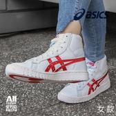 【ASICS 亞瑟士】TIGER GEL PTG 女款休閒鞋 灌籃高手 紅白(1191A181101)
