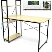 120X60雙向側櫃書桌.側架書桌電腦桌.工作桌辦公桌.四層置物架.側櫃書架桌側櫃桌.置物櫃收納櫃