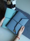 記事本 A5活頁創意小清新日記本可愛筆記本子復古手帳本定制手賬本記事本 星隕閣
