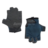 Nike 訓練手套 Lightweight Gloves 藍 黑 男款 一雙入 輕便 運動 【ACS】 N0000003-488