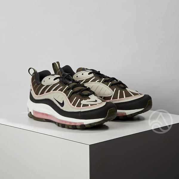 Nike Air Max 98 女款 黑卡其 氣墊 避震 經典款 復古 運動 休閒鞋 AH6799-301