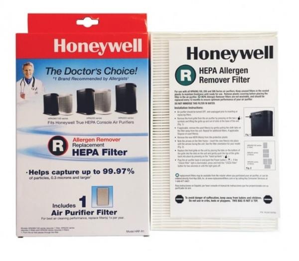 (兩盒) Honeywell 耗材 HRF-R1 HEPA 濾網 (1入)  適用HPA-100 200 300 CONSOLE 另有HRF-APP1