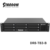 "STARDOM DR8-TB3-B 3.5""HDD / 2.5"" SSD Thunderbolt3 8bay 機架式磁碟陣列硬碟外接盒"