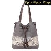 【YPRA】帆布包包 帆布女女士休閒包旅行包