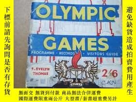 二手書博民逛書店1948罕見LONDON OLYMPIC GAMES (1948