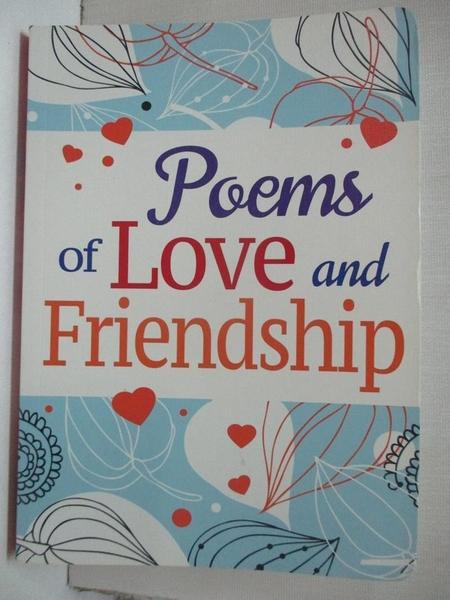 【書寶二手書T2/文學_BUH】Poems of Love and Friendship_Arcturus Publishing (COR)