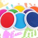 【BlueCat】兒童大號手指畫水洗印泥 手掌拓印塗鴉彩繪
