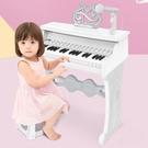 電子琴俏娃寶貝兒童鋼琴玩具女孩寶寶電子琴...