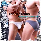 BRAVE PERSON路跑者超低腰窄版運動三角褲 激凸性感 猛男必備 BF0321