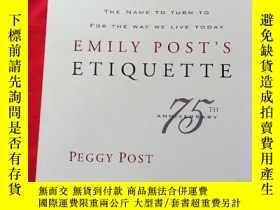 二手書博民逛書店美國最暢銷的禮儀教科書罕見Emily Posts Etiquette (16th Edition) by Pegg