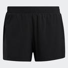 Adidas H.RDY SHORTS 女裝 短褲 二合一緊身 訓練 中腰 後口袋拉鍊 黑【運動世界】GM2778