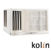 (含標準安裝)歌林左吹窗型冷氣KD-412L06