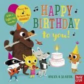 Happy Birthday To You! 生日快樂 硬頁音效書