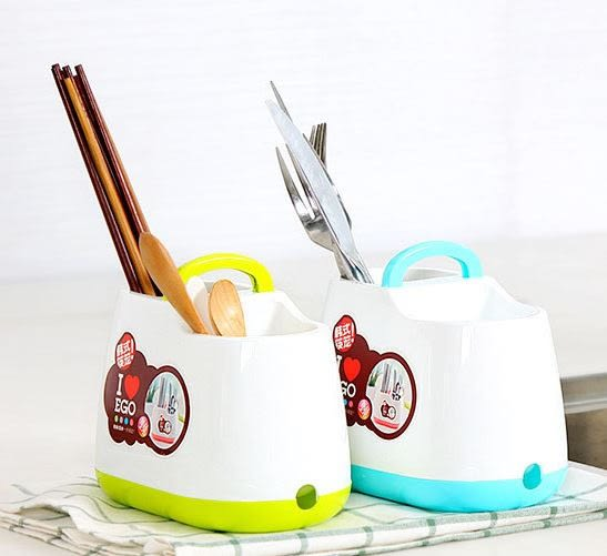 手提韓式小清新筷子籠筷子筒餐具勺子收納盒69元