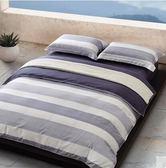 幸福居*純棉床上用品四件套全棉宿舍三件套1.8m雙人床笠床單被子被套被單13(主圖款 床笠式)