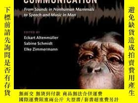二手書博民逛書店The罕見Evolution Of Emotional Comm