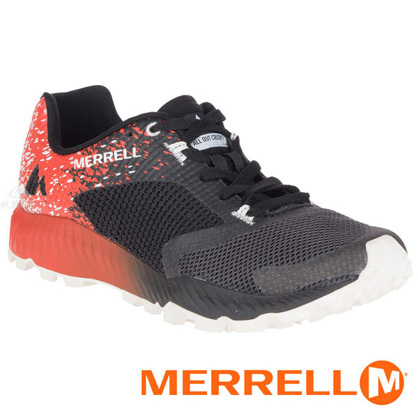 【MERRELL 美國】ALL OUT CRUSH 2 男多功能越野跑鞋『橘/黑』98251 機能鞋.多功能鞋.休閒鞋.登山鞋.低筒