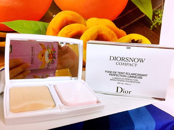 Dior 迪奧雪晶靈透亮UV粉餅 9g#012 SPF20 PA+++含盒及蕊百貨公司專櫃正貨盒裝