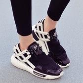 氣墊鞋-韓國流行休閒跑步時尚女運動鞋3色71l31【時尚巴黎】