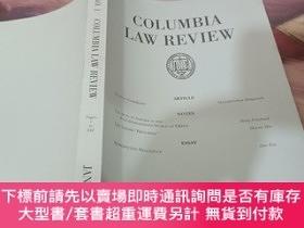 二手書博民逛書店columbia罕見law review vol.117 january 2017 哥倫比亞法律評論Y2419