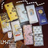 雙十一返場促銷韓國複古學生長款塗鴉印花潮流日繫可愛卡通錢包皮革錢夾