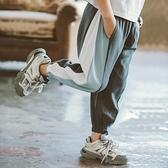 男童長褲 男童夏裝防蚊褲子薄款2020新款洋氣兒童夏季長褲中大童休閒韓版潮