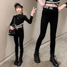 女童牛仔褲春裝新款兒童鉛筆褲春秋薄款打底褲子外穿小女孩魔術褲 韓語空間