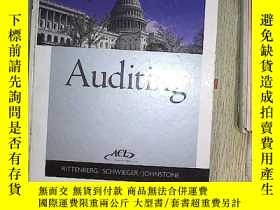 二手書博民逛書店AUDITING罕見A BUSINESS RISK APPROA