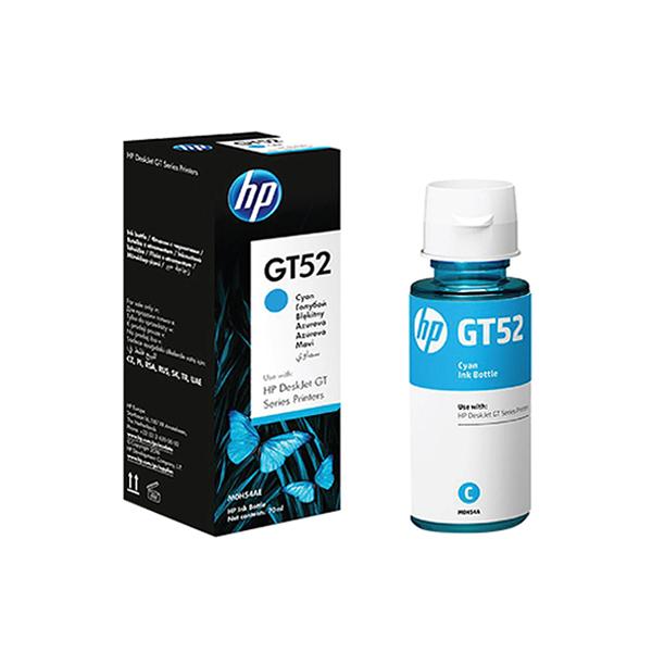 HP 原廠青色墨水罐 GT52(M0H54AA) 適用 GT5810/5820;InkTank 315/415/419