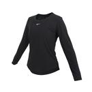 NIKE 女圓領長袖T恤(Dri-FIT 慢跑 路跑 訓練 上衣≡體院≡ DD0621-010