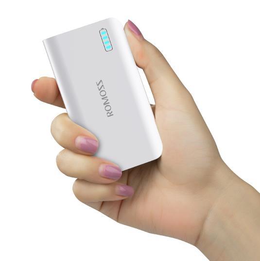 行動電源羅馬仕小巧輕薄行動電源便攜5000毫安可愛迷你蘋果手機通用行動電源 CY潮流