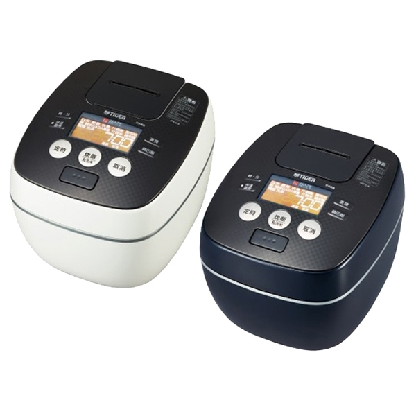 TIGER虎牌6人份可變式雙重壓力IH炊飯電子鍋 JPB-G10R白色WAX