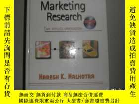 二手書博民逛書店Marketing罕見Research: An Applied