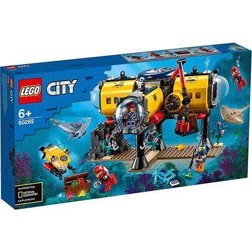 樂高積木 LEGO《 LT60265 》City 城市系列 - 海洋探索基地 / JOYBUS玩具百貨