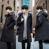冬裝棉衣男韓版中長款加厚棉襖子青少年羽絨棉服男士外套