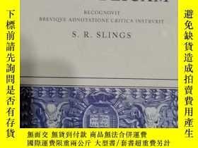 二手書博民逛書店Platonis罕見Rempvblicam (柏拉圖《理想國》古希臘文版)Y32455 S.R.Slings