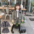 *╮S13小衣衫╭*秋冬款小香風長袖外套搭配短褲套裝1070935