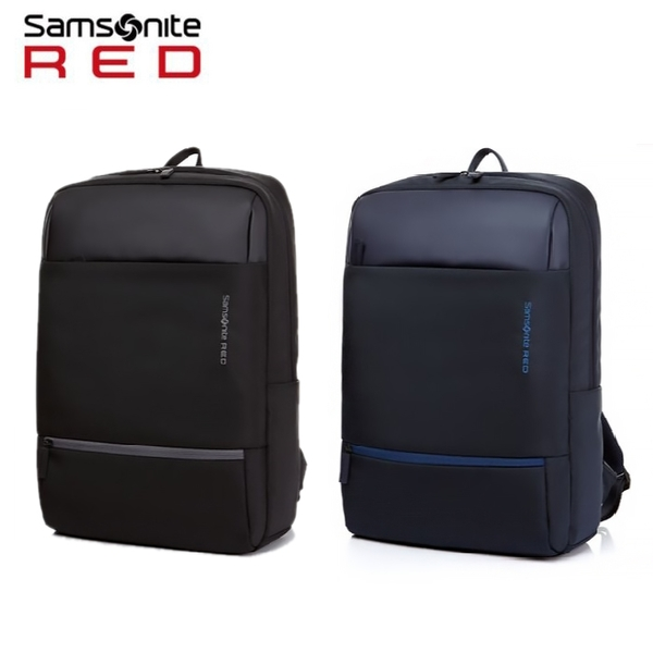 特價 Samsonite RED【LOPERE DO1】15吋筆電後背包 減壓背帶 輕量極簡中性 附保卡 通勤推薦