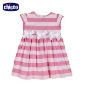 chicco-夢幻花園-條紋洋裝