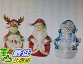 [COSCO代購] W1156482 聖誕主題造型夜燈3入組
