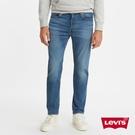 Levis 男款 上寬下窄 502Taper牛仔褲 / 中藍刷白 / Flex彈力機能布料 / 天絲棉