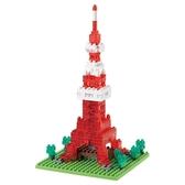 《 Nano Block迷你積木 》NBH-001R 東京鐵塔-Nanoblock十週年版本(透明Ver.) ╭★ JOYBUS玩具百貨