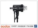 Godox 神牛H2400P 保榮卡口 手持型延長1.73米 可調焦閃光燈頭(附燈管,玻璃保護罩與塑膠保護蓋)