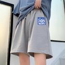 五分褲 休閒運動短褲女夏季寬鬆2021韓版薄款顯瘦直筒百搭五分褲子潮ins 寶貝