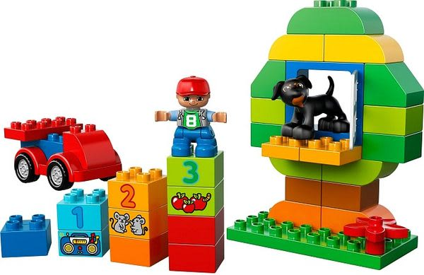 樂高積木 LEGO《 LT10572 》 Duplo 幼兒系列 - 樂高 得寶 多合一樂趣箱 ╭★ JOYBUS玩具百貨