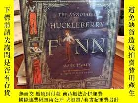 二手書博民逛書店The罕見Annotated Huckleberry FinnY