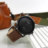 CITIZEN 星辰表 / BE9185-08E / 簡約時尚 礦石強化玻璃 日本機芯 真皮手錶 黑x咖啡 42mm