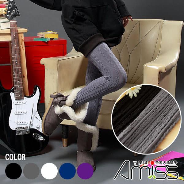 Amiss襪子團購網【C204-1】日本雜誌款‧顯瘦流行褲襪■150D-螺紋(7色)