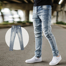 ‧【柒零年代】 ‧牛仔褲,長褲,小直筒,合身版,無破,韓國製 ‧如圖【共一色】