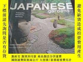 二手書博民逛書店Japanese罕見Gardens: Tranquility,